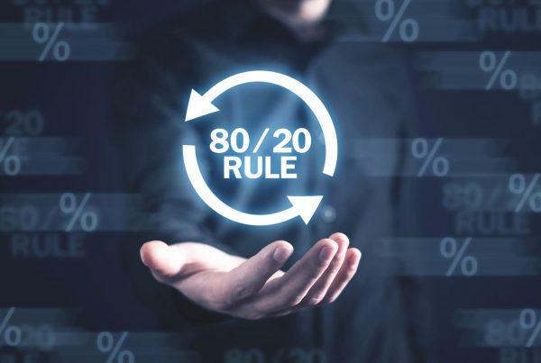 80/20 rule for business